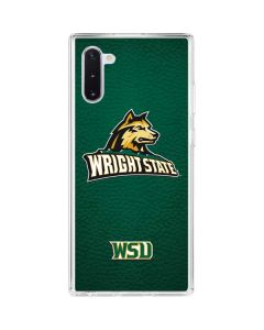 Wright State Galaxy Note 10 Clear Case