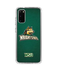 Wright State Galaxy S20 Clear Case