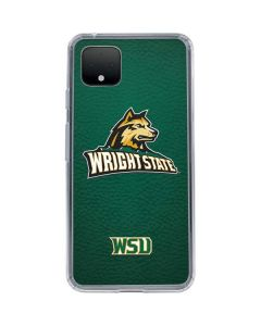 Wright State Google Pixel 4 Clear Case