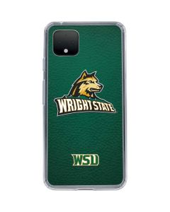Wright State Google Pixel 4 XL Clear Case