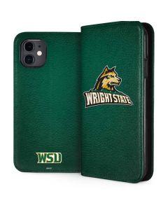 Wright State iPhone 11 Folio Case