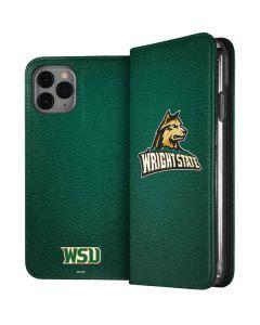 Wright State iPhone 11 Pro Folio Case