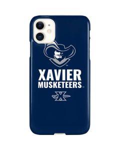 Xavier Musketeers Mascot Blue iPhone 11 Lite Case