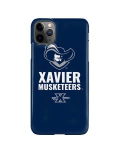 Xavier Musketeers Mascot Blue iPhone 11 Pro Max Lite Case