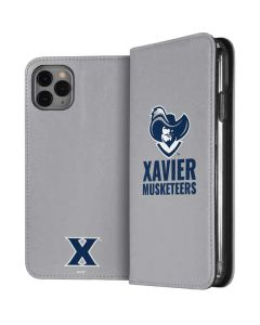 Xavier Musketeers Mascot iPhone 11 Pro Max Folio Case
