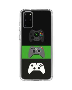 Xbox Controller Evolution Galaxy S20 Plus Clear Case
