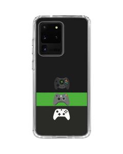 Xbox Controller Evolution Galaxy S20 Ultra 5G Clear Case