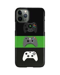 Xbox Controller Evolution iPhone 11 Pro Lite Case