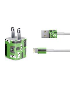 Xbox Pattern iPhone Charger (5W USB) Skin
