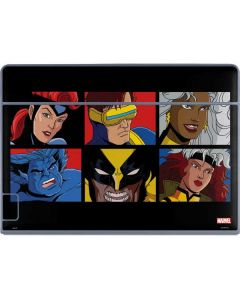 X-Men Grid Galaxy Book Keyboard Folio 12in Skin