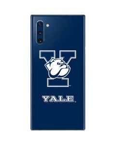 Yale Bulldogs Blue Galaxy Note 10 Skin