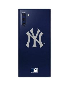 Yankees Embroidery Galaxy Note 10 Skin