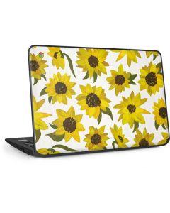 Sunflower Acrylic HP Chromebook Skin