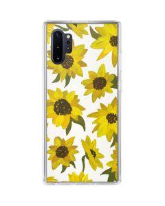 Sunflower Acrylic Galaxy Note 10 Plus Clear Case