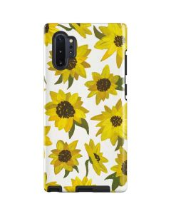 Sunflower Acrylic Galaxy Note 10 Plus Pro Case