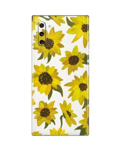 Sunflower Acrylic Galaxy Note 10 Skin