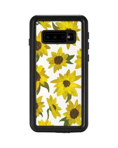 Sunflower Acrylic Galaxy S10 Waterproof Case