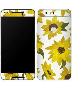 Sunflower Acrylic Google Nexus 6P Skin