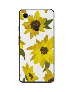 Sunflower Acrylic Google Pixel 3 XL Skin