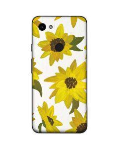 Sunflower Acrylic Google Pixel 3a Skin