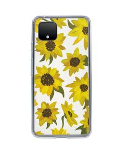 Sunflower Acrylic Google Pixel 4 Clear Case