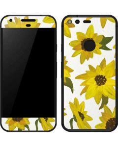 Sunflower Acrylic Google Pixel Skin