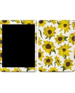 Sunflower Acrylic Apple iPad Skin