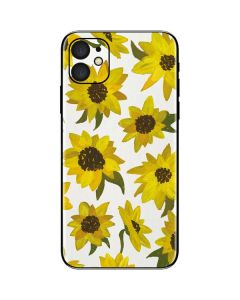 Sunflower Acrylic iPhone 11 Skin
