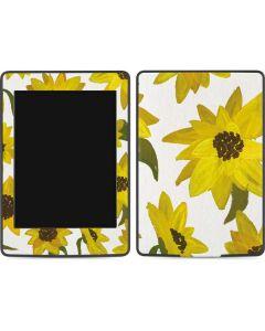 Sunflower Acrylic Amazon Kindle Skin