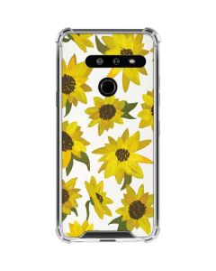 Sunflower Acrylic LG G8 ThinQ Clear Case