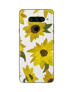 Sunflower Acrylic LG V40 ThinQ Skin