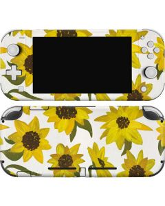 Sunflower Acrylic Nintendo Switch Lite Skin