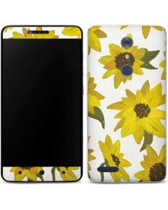 Sunflower Acrylic ZTE ZMAX Pro Skin
