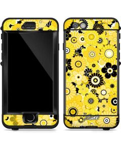 Yellow Flowerbed LifeProof Nuud iPhone Skin