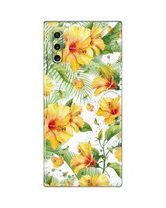 Yellow Hibiscus Galaxy Note 10 Skin