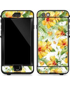 Yellow Hibiscus LifeProof Nuud iPhone Skin