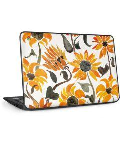 Yellow Sunflower HP Chromebook Skin