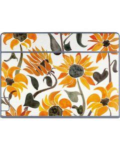 Yellow Sunflower Galaxy Book Keyboard Folio 12in Skin
