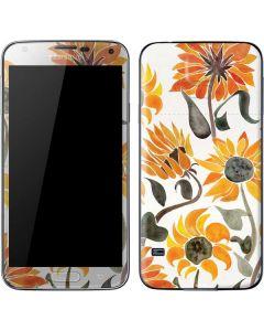 Yellow Sunflower Galaxy S5 Skin