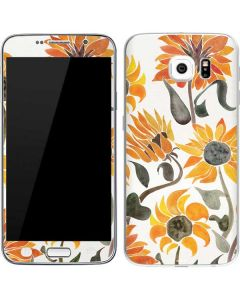 Yellow Sunflower Galaxy S6 Skin