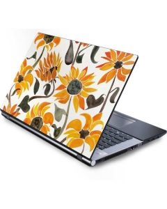 Yellow Sunflower Generic Laptop Skin