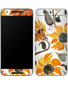 Yellow Sunflower Google Nexus 6P Skin