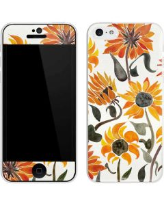 Yellow Sunflower iPhone 5c Skin