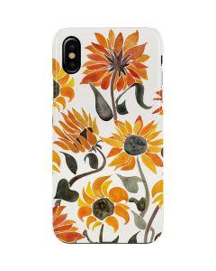 Yellow Sunflower iPhone XS Max Lite Case