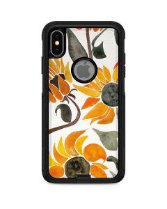 Yellow Sunflower Otterbox Commuter iPhone Skin