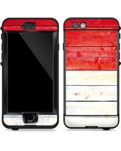 Yemen Flag Light Wood LifeProof Nuud iPhone Skin