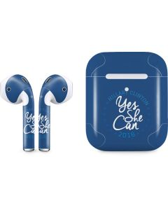 Yes She Can Hillary 2016 Apple AirPods 2 Skin