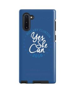 Yes She Can Hillary 2016 Galaxy Note 10 Pro Case