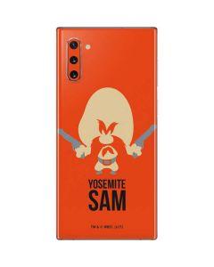 Yosemite Sam Identity Galaxy Note 10 Skin