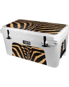 Zebra YETI Tundra 65 Hard Cooler Skin